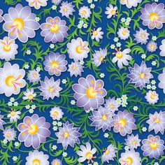 Papel de Parede Floral 1600