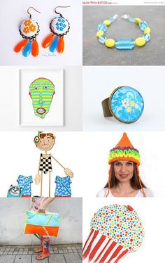 Quirky Colorful And Fun Gifts by a to z on Etsy--Pinned with TreasuryPin.com