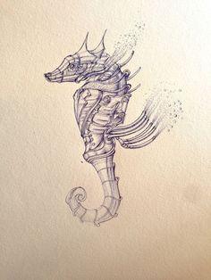 Marco Ryans alias Marcomatic est un illustrateur Australien qui réalise d'incroyable dessins steampunk au stylo à bille.