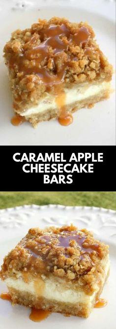 Fudge Recipes, Best Dessert Recipes, Apple Recipes, Chocolate Recipes, Sweet Recipes, Delicious Desserts, Easy Recipes, Caramel Apple Cheesecake Bars, Fall Desserts