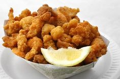 Fried Crawfish Tails Exit 30 on 30 n Ark stop you be glad you did on the east side past the exxon her voice is enough to get to ya