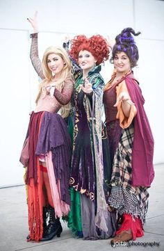 Sanderson Sisters from Hocus Pocus