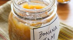 Banana Jam - thanks Andrea M, we love this stuff. It keeps forever in the fridge and is a super way to use up ripe bananas. I put it in the kids' smoothies when I don't have fresh bananas. Really Yummy. Jelly Recipes, Banana Recipes, Cake Recipes, Chutneys, Deco Cupcake, Rose Cupcake, Cupcake Cakes, Banana Jam, Banana Bread