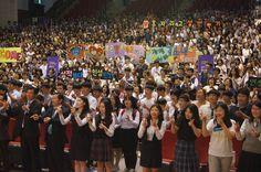 하나님의교회 경남남·서부연합회, 창원서 '청소년 인성교육 명사강연'