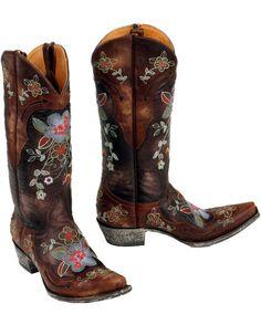 And the winner is...   The Old Gringo Bonnie Boot!  Wish list for now, reality at Christmas!