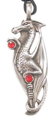 Crystal Draco The Dragon Pewter Pendant Necklace Dan Jewelers. $14.97. Dan Jewelers has tens of thousands of positive feedbacks across the internet.. Hypoallergenic. Good value. Satisfaction guaranteed.. Does not tarnish