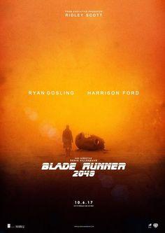 Resultado de imagem para blade runner 2049 poster
