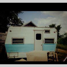 My new vintage aljo camper