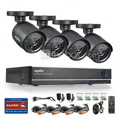 ANNKE 8CH 960H CCTV System Waterproof Video Recorder 900TVL Home Security Camera Surveillance Kits#04674370