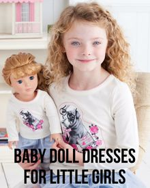 Baby Doll Dresses for Little Girls - Pinned from @Glossi, a free digital magazine creation platform