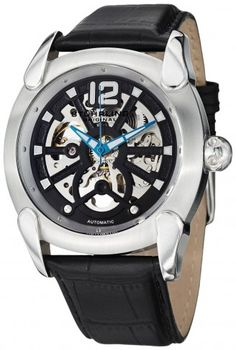 Stuhrling Original 725.01 Leisure Gen X Axial Automatic Skeleton Watch For Men