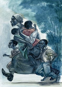 Stirring Images from the First Ever Illustrated Version of Toni Morrison's 'Beloved' (Illustrations by Joe Morse from The Folio Society edition of Toni Morrison's Beloved) Beloved Toni Morrison, Black Artwork, We Are The World, African American History, Black Is Beautiful, African Art, Black History, Illustrators, Cool Art