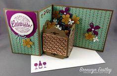 Planter Box Z-Fold Box Card