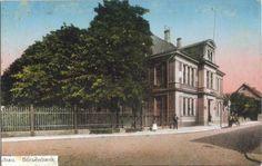 Borsenbank. Biržas banka.Ēka saglabājusies līdz mūsdienām, tagadējā Baznīcas iela. Pastkarte 1895-1910g.