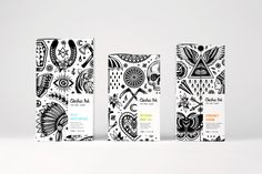 Electric Ink by Robot Food, United Kingdom. #branding #packaging #tattoo