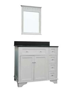 Kent - 499 - includes mirror and granite counter top