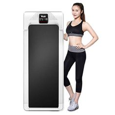 NFJMWM Treadmill Portable Electric Flat Walking Machine Multifunctional Simple Folding Walker For Indoor Gym Fitness… Experience a powerful horsepower motor ... Running Machines, Workout Machines, Gym Fitness, Mens Fitness, Indoor Gym, Folding Treadmill, Treadmills, Running Belt, At Home Gym