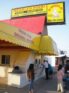 HELL YEAH!!! I still get cravings for LBJ's!!!!-El Burrito Jnr's at Redondo Beach, California