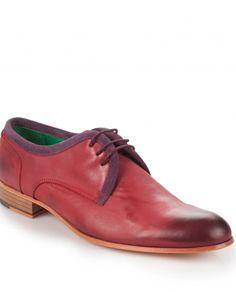 Toss Erkek Bağcıklı Ayakkabı-Kırmızı