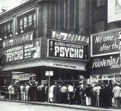 16 June 1960 - Psycho, starring Janet Leigh, Anthony Perkins, and Vera Miles, opens in New York City