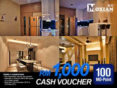 Guys! Let's get this extremely cool voucher RM1000 Cash Voucher from MS Design Studio and get this at www.moxian.com/moreward or download our Moxian app at http://moxian.com/mobile/downcent_app.php?page=android   #cashvoucher #MoxianApp #Moxian #renovation #MSDesignStudio #MOPoints #MORewards #beyondsocialrewards #MOVoucher