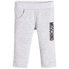 Moschino Baby - Baby Boys Grey Tracksuit Trousers |