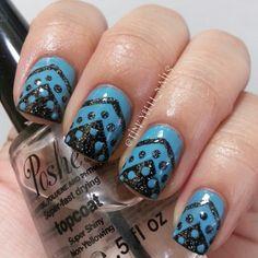 Instagram photo by  tinkybell_nails #nail #nails #nailart