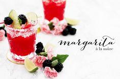 Un cocktail d'été parfait pour terminer la journée, une Margarita à la mûre. A la fois légère et sucrée, elle devient un des incontournables de ma liste.