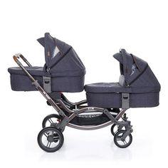 ABC Design Zoom Tandem Double Stroller Pram - Street