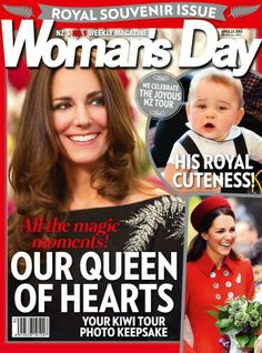 Woman's Day Magazine Cover ~~ Royal Souvenir Issue