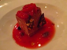 Chocolate and Blood Orange Mousse, Gather, Berkeley