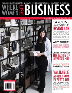 Where Women Create - Business Need to get this!  So excited for this new mag in the Where Women Create series!!