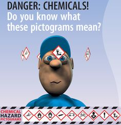 Danger: chemicals! New online toolkit alerts workers and employers to hazard pictograms