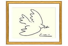 Picasso, Dove of Peace (serigraph) $300 Retail/ $159 Our Price
