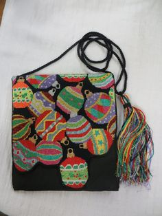 Holiday Purse with matching tassel