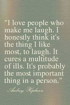 """""""I love people who make me laugh."""" Laughter is so good for the soul. Our Saturday Good friends and so much fun. So much laughter. Words Quotes, Wise Words, Me Quotes, Motivational Quotes, Inspirational Quotes, Humor Quotes, Random Quotes, Quotable Quotes, Famous Quotes"""