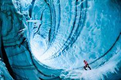 Iceland's Langjökull Glacier