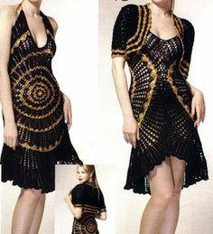 Örgü Elbise Modelleri-2