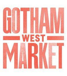 Signage - Gotham West Market