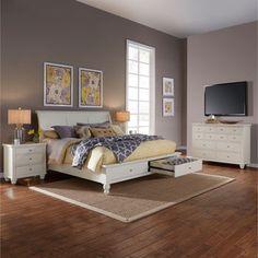 Ashfield 4-piece Queen Storage Bedroom Set