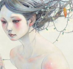 Beautiful Paintings by Japanese Artist Miho Hirano instagram : https://www.instagram.com/mihohiranoart/ website : http://mihohirano.strikingly.com/