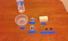 Fourth Grade Science Experiment- Hands on center for Magnets unit