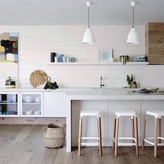 """""""Summer interior ! Reminded me of beach, surf and sand ! Interiors by Mim Design Residential"""
