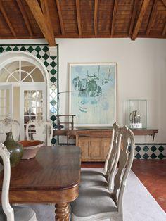 Una gran casa de campo elegante y ecléctica | Bohemian and Chic