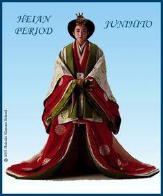Kimono Hypertext - History: Heian Period Junihito