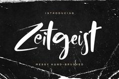 Zeitgeist Brush Font Demo is a playful, casual, and fresh font that takes real handwriting as its base. Available in 2 versions, Script Fonts, New Fonts, Handwritten Fonts, Fonts Gratis, Software Android, Corel X7, Tutorial Photoshop, Font Design, Graphic Design