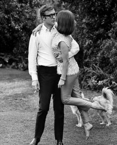 The Michael Caine Swagger  with Natalie Wood