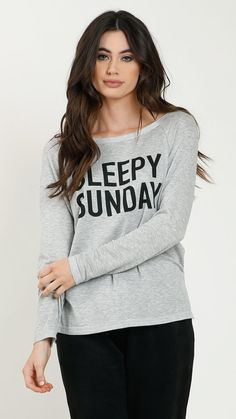 Sleepy Sunday Long Sleeve