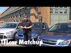 2015 VW Golf Mk7 vs Ford focus vs Subaru Impreza Matchup Review