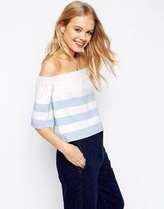 It's striped AND it's off the shoulder so of course I love it